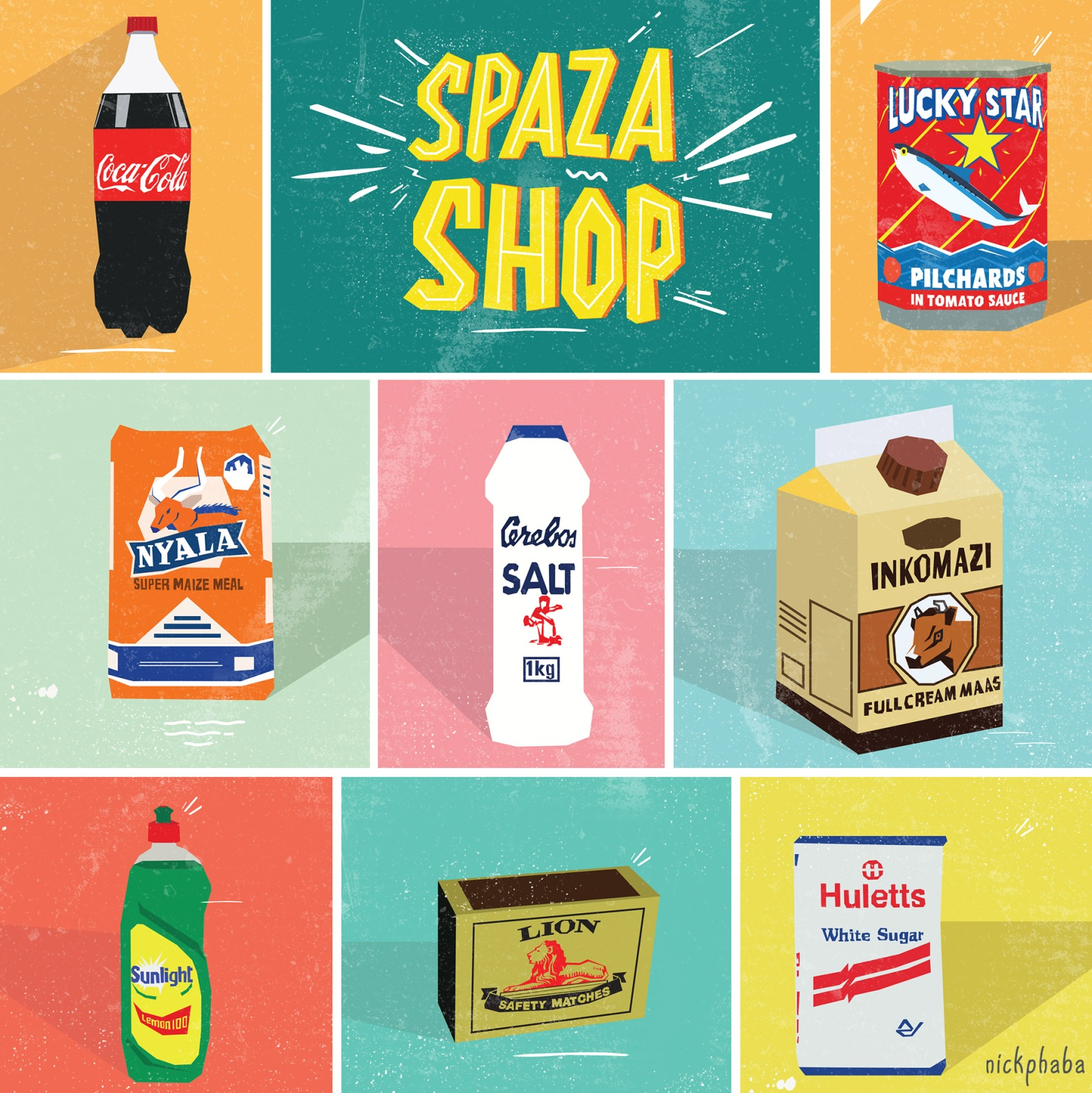 https://www.behance.net/gallery/78046009/Spaza-illustration